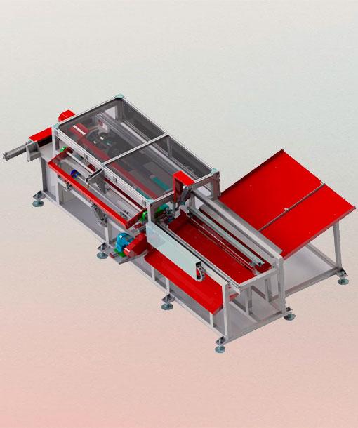 maquina equipamento de corte de bubetes - engenova maquinas e equipamentos